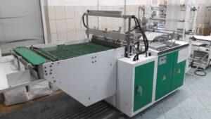 пакетодельная машина для изготовления пакетов с боковым швом